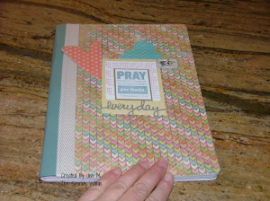 our family gratitude journal. I really like how it turned out!